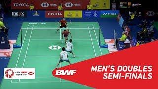 【Video】Hiroyuki ENDO・Yuta WATANABE VS Bodin ISARA・Maneepong JONGJIT, bán kết TOYOTA Thái Lan mở 2018