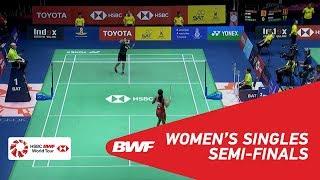【Video】Gregoria Mariska TUNJUNG VS PUSARLA V. Sindhu, bán kết TOYOTA Thái Lan mở 2018