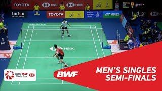 【Video】Suppanyu AVIHINGSANON VS Tommy SUGIARTO, bán kết TOYOTA Thái Lan mở 2018