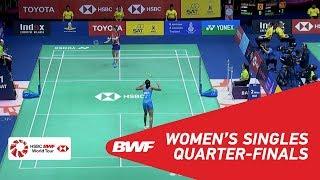 【Video】Soniia CHEAH VS PUSARLA V. Sindhu, tứ kết TOYOTA Thái Lan mở 2018