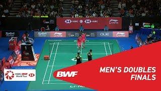 【Video】Mohammad AHSAN・Hendra SETIAWAN VS OU Xuanyi・Xiangyu REN, chung kết Singapore Open 2018
