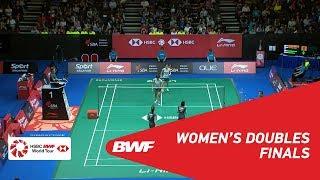 【Video】Ayako SAKURAMOTO・Yukiko TAKAHATA VS Nami MATSUYAMA・Chiharu SHIDA, chung kết Singapore Open 2018