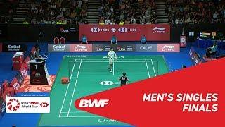 【Video】CHOU Tien Chen VS HSU Jen Hao, chung kết Singapore Open 2018