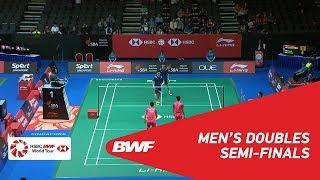 【Video】OU Xuanyi・Xiangyu REN VS HAN Chengkai・ZHOU Haodong, bán kết Singapore Open 2018