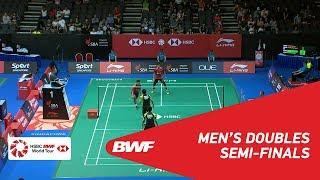 【Video】Mohammad AHSAN・Hendra SETIAWAN VS Angga PRATAMA・Rian Agung SAPUTRO, bán kết Singapore Open 2018