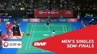 【Video】CHOU Tien Chen VS QIAO Bin, bán kết Singapore Open 2018