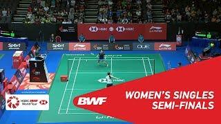 【Video】HAN Yue VS Sayaka TAKAHASHI, bán kết Singapore Open 2018