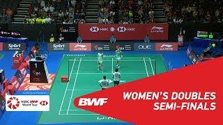 【Video】Ayako SAKURAMOTO・Yukiko TAKAHATA VS Jongkolphan KITITHARAKUL・Rawinda PRAJONGJAI, bán kết Singapore Open 2018
