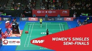 【Video】GAO Fangjie VS Nitchaon JINDAPOL, bán kết Singapore Open 2018