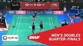 【Video】HAN Chengkai・ZHOU Haodong VS PO Li-Wei・YANG Ming-Tse, tứ kết Singapore Open 2018