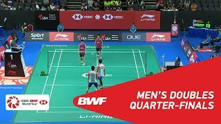 【Video】Mohammad AHSAN・Hendra SETIAWAN VS Tinn ISRIYANET・Kittisak NAMDASH, tứ kết Singapore Open 2018