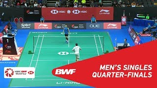 【Video】CHOU Tien Chen VS LEE Hyun Il, tứ kết Singapore Open 2018