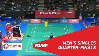 【Video】Wei Feng CHONG VS QIAO Bin, tứ kết Singapore Open 2018