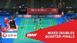 【Video】Tontowi AHMAD・Liliyana NATSIR VS LEE Chun Hei Reginald・CHAU Hoi Wah, tứ kết Singapore Open 2018
