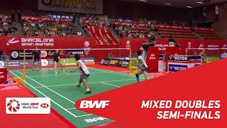 【Video】Marcus ELLIS・Lauren SMITH VS Kohei GONDO・Ayane KURIHARA, bán kết Tiếng Tây Ban Nha Mở 2018