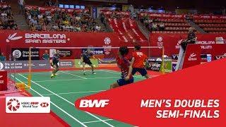 【Video】KIM Gi Jung・LEE Yong Dae VS CHEN Tang Jie・Wei Chong MAN, bán kết Tiếng Tây Ban Nha Mở 2018