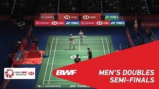 【Video】Marcus Fernaldi GIDEON・Kevin Sanjaya SUKAMULJO VS HE Jiting・TAN Qiang, bán kết DAIHATSU YONEX Japan Mở 2018