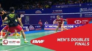【Video】Kim ASTRUP・Anders Skaarup RASMUSSEN VS HAN Chengkai・ZHOU Haodong, chung kết VICTOR China Open 2018