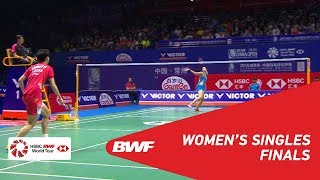 【Video】Carolina MARIN VS CHEN Yufei, chung kết VICTOR China Open 2018