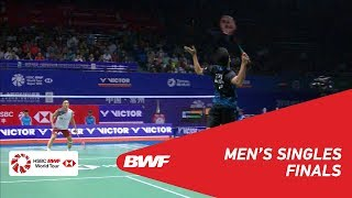 【Video】Anthony Sinisuka GINTING VS Kento MOMOTA, chung kết VICTOR China Open 2018