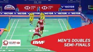 【Video】Kim ASTRUP・Anders Skaarup RASMUSSEN VS CHEN Hung Ling・WANG Chi-Lin, bán kết VICTOR China Open 2018