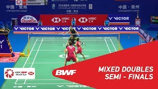 【Video】ZHANG Nan・LI Yinhui VS WANG Yilyu・HUANG Dongping, bán kết VICTOR China Open 2018