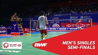 【Video】Kento MOMOTA VS SHI Yuqi, bán kết VICTOR China Open 2018
