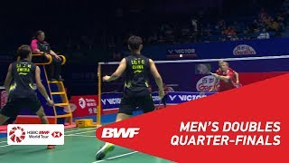 【Video】Kim ASTRUP・Anders Skaarup RASMUSSEN VS LI Junhui・LIU Yuchen, tứ kết VICTOR China Open 2018
