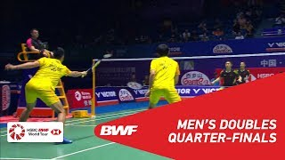 【Video】CHEN Hung Ling・WANG Chi-Lin VS HE Jiting・TAN Qiang, tứ kết VICTOR China Open 2018