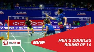 【Video】LI Junhui・LIU Yuchen VS ONG Yew Sin・TEO Ee Yi, vòng 16 VICTOR China Open 2018