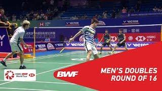 【Video】Marcus Fernaldi GIDEON・Kevin Sanjaya SUKAMULJO VS Tinn ISRIYANET・Kittisak NAMDASH, vòng 16 VICTOR China Open 2018