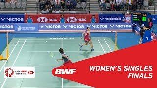 【Video】Beiwen ZHANG VS Nozomi OKUHARA, chung kết VICTOR Hàn Quốc mở 2018