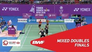 【Video】Alfian Eko PRASETYA・Marsheilla Gischa ISLAMI VS YANG Po-Hsuan・WU Ti Jung, chung kết Chinese Taipei Open 2018