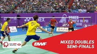【Video】YANG Po-Hsuan・WU Ti Jung VS CHEN Tang Jie・Yen Wei PECK, bán kết Chinese Taipei Open 2018