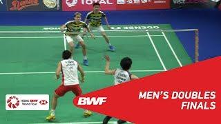 【Video】Marcus Fernaldi GIDEON・Kevin Sanjaya SUKAMULJO VS Takeshi KAMURA・Keigo SONODA, chung kết DANISA Đan Mạch Mở 2018