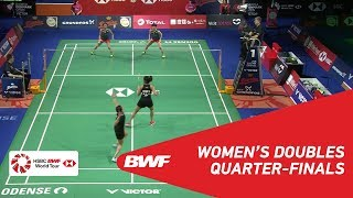 【Video】Yuki FUKUSHIMA・Sayaka HIROTA VS Ashwini PONNAPPA・REDDY N. Sikki, tứ kết DANISA Đan Mạch Mở 2018