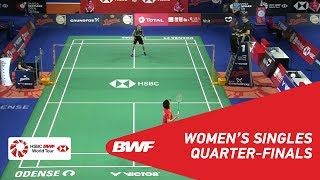 【Video】TAI Tzu Ying VS CHEN Yufei, tứ kết DANISA Đan Mạch Mở 2018