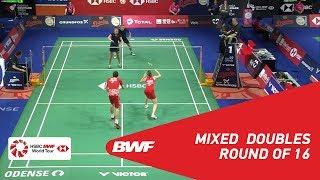 【Video】Mathias CHRISTIANSEN・Christinna PEDERSEN VS Marvin Emil SEIDEL・Linda EFLER, vòng 16 DANISA Đan Mạch Mở 2018