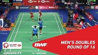 【Video】LIAO Min Chun・SU Ching Heng VS Kim ASTRUP・Anders Skaarup RASMUSSEN, vòng 16 DANISA Đan Mạch Mở 2018