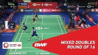【Video】CHAN Peng Soon・GOH Liu Ying VS Yuta WATANABE・Arisa HIGASHINO, vòng 16 DANISA Đan Mạch Mở 2018