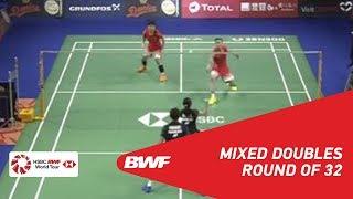 【Video】Ricky KARANDASUWARDI・Debby SUSANTO VS ZHANG Nan・LI Yinhui, vòng 32 DANISA Đan Mạch Mở 2018