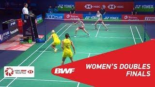 【Video】Mayu MATSUMOTO・Wakana NAGAHARA VS Gabriela STOEVA・Stefani STOEVA, chung kết YONEX French Open 2018
