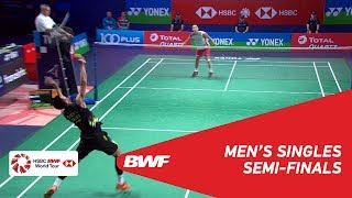 【Video】Kento MOMOTA VS CHEN Long, bán kết YONEX French Open 2018