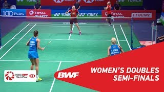 【Video】Gabriela STOEVA・Stefani STOEVA VS LEE So Hee・SHIN Seung Chan, bán kết YONEX French Open 2018