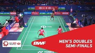 【Video】HAN Chengkai・ZHOU Haodong VS LEE Jhe-Huei・LEE Yang, bán kết YONEX French Open 2018
