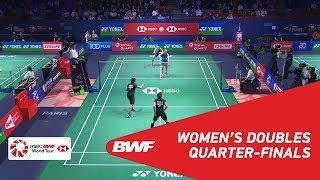 【Video】Greysia POLII・Apriyani RAHAYU VS Maiken FRUERGAARD・Sara THYGESEN, tứ kết YONEX French Open 2018