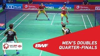 【Video】Marcus Fernaldi GIDEON・Kevin Sanjaya SUKAMULJO VS CHEN Hung Ling・WANG Chi-Lin, tứ kết YONEX French Open 2018