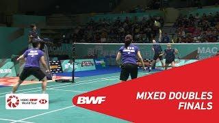 【Video】TANG Chun Man・TSE Ying Suet VS LEE Chun Hei Reginald・CHAU Hoi Wah, chung kết Macau mở 2018