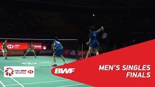 【Video】Marcus Fernaldi GIDEON・Kevin Sanjaya SUKAMULJO VS HE Jiting・TAN Qiang, chung kết Phúc Châu mở cửa năm 2018