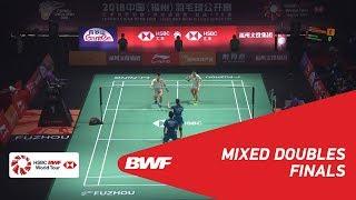 【Video】ZHENG Siwei・HUANG Yaqiong VS WANG Yilyu・HUANG Dongping, chung kết Phúc Châu mở cửa năm 2018